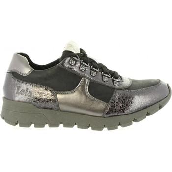 Schuhe Damen Sneaker Low Lois 85234 Plateado