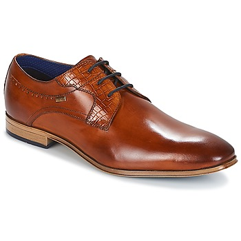 Schuhe Herren Derby-Schuhe Bugatti  Cognac