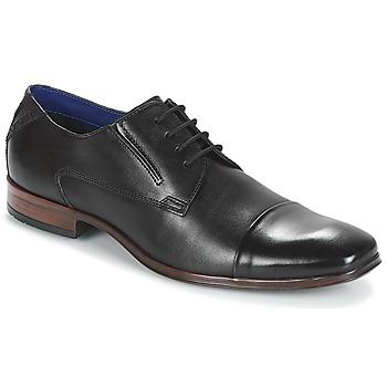 Schuhe Herren Derby-Schuhe Bugatti  Schwarz