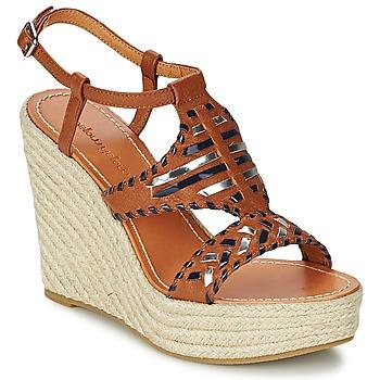 Schuhe Damen Sandalen / Sandaletten Mellow Yellow SAKE Camel