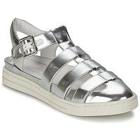 Schuhe Damen Sandalen / Sandaletten Mellow Yellow SACHIC Silbern