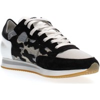Schuhe Damen Sneaker Low Philippe Model Paris TRLD CI01 TROPEZ SNEAKERS Damen WHITE BLACK WHITE BLACK