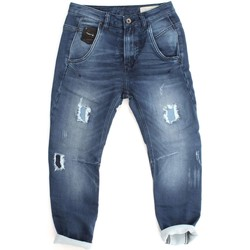 Kleidung Kinder Straight Leg Jeans Diesel FAYZA J-A S JEANS Mädchen DENIM MEDIUM BLUE DENIM MEDIUM BLUE