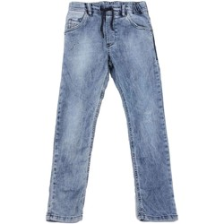 Kleidung Kinder Straight Leg Jeans Diesel KROOLEY-NE J 00J3AJ JEANS Kinder DENIM LIGHT BLUE DENIM LIGHT BLUE