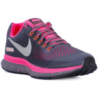 Schuhe Damen Sneaker Low Nike ZOOM PEGASUS 34 SHIELD GS Grigio