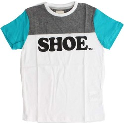 Kleidung Kinder T-Shirts Shoeshine E7TM3504 J T-SHIRT Kinder WHITE WHITE