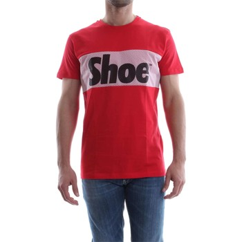 Kleidung Herren T-Shirts Shoeshine E7TU7047 T-SHIRT Harren RED RED