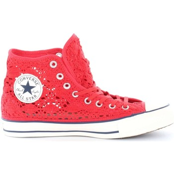 Schuhe Damen Sneaker High Converse 552998C ALL STAR HI CROCHET SNEAKERS Damen BRAKE LIGHT BRAKE LIGHT