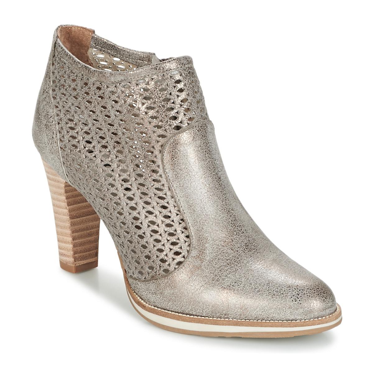 Myma LINOPOS Silbern - Kostenloser Versand bei Spartoode ! - Schuhe Low Boots Damen 97,30 €