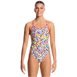 Kleidung Damen Badeanzug Funkita Diamond Back One Piece Multicolor