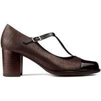 Schuhe Damen Pumps Kroc LEDER TACON SCHUHE Braun