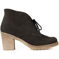Schuhe Damen Low Boots Kroc KROCS TACON TASCHEN Braun