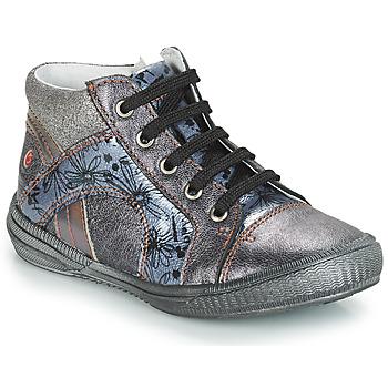 Schuhe Mädchen Sneaker High GBB ROSETTA Grau / Blau