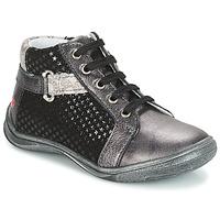 Schuhe Mädchen Boots GBB RICHARDINE Grau / Schwarz