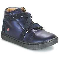 Schuhe Mädchen Boots GBB RAYMONDE Marine / Dpf / 2706