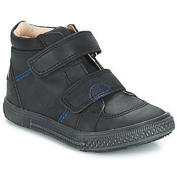 Schuhe Jungen Boots GBB ROBERT Schwarz