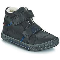 Schuhe Jungen Boots GBB ROBERT Schwarz / Dch / Stryke