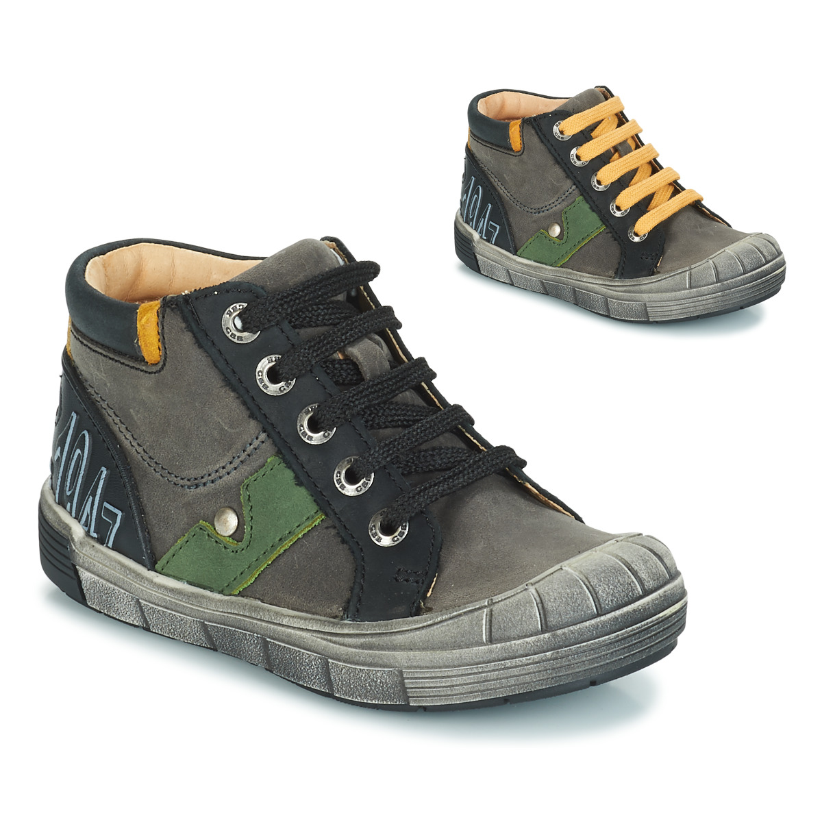 GBB REINOLD Nuv / Grau-schwarz / Dpf / 2831 - Kostenloser Versand bei Spartoode ! - Schuhe Klassische Stiefel  51,00 €