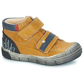 Schuhe Jungen Boots GBB REMI Camel