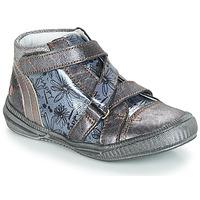 Schuhe Mädchen Boots GBB RADEGONDE Grau / Blau