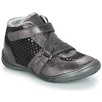 Schuhe Mädchen Boots GBB RIQUETTE Grau / Schwarz