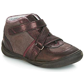 Schuhe Mädchen Boots GBB RIQUETTE Braun / Bronze