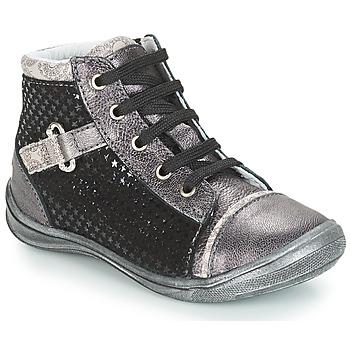 Schuhe Mädchen Sneaker High GBB ROMIE Schwarz / Grau