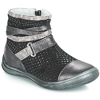 Schuhe Mädchen Boots GBB ROCHELLE Schwarz