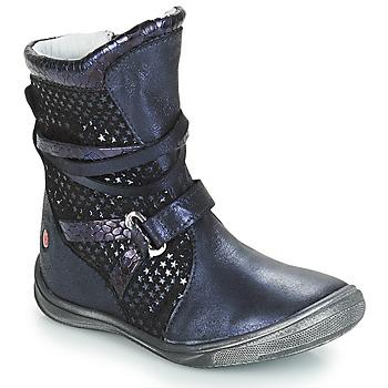 Schuhe Mädchen Klassische Stiefel GBB ROSANA Blau