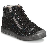 Schuhe Mädchen Boots GBB DESTINY Schwarz / Confetti / Dpf / Edit