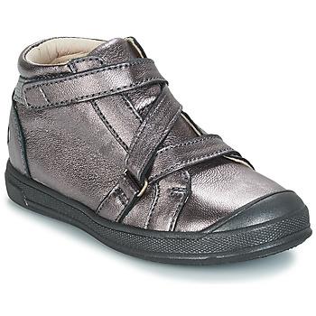 Schuhe Mädchen Boots GBB NADEGE Grün / gelb / schwarz / Rose / Dpf / Edit