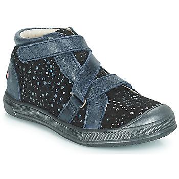 Schuhe Mädchen Boots GBB NADEGE Schwarz / Confetti / Dpf / Edit