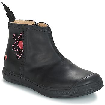 Schuhe Mädchen Klassische Stiefel GBB ROMANE Schwarz / Dpf / Edit