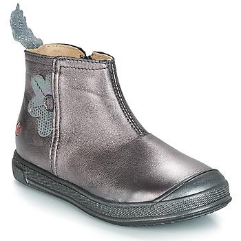 Schuhe Mädchen Klassische Stiefel GBB ROMANE Grün / gelb / schwarz / Rose / Dpf / Edit