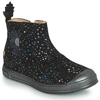 Schuhe Mädchen Klassische Stiefel GBB ROMANE Schwarz / Confetti / Dpf / Edit