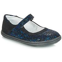 Schuhe Mädchen Ballerinas GBB PLACIDA Ctu / Marine-schwarz / Dpf