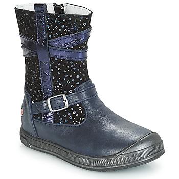 Schuhe Mädchen Boots GBB NARCISSE Marine