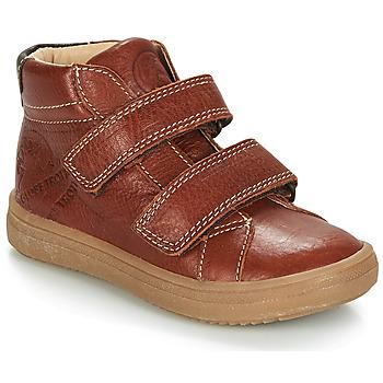 Schuhe Jungen Boots GBB NAZAIRE Stein / kaffee / Dpf / 2835