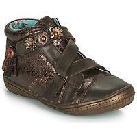 Schuhe Mädchen Boots Catimini ROQUETTE Braun / Dpf / 2852