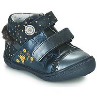 Schuhe Boots Catimini ROSSIGNOL Marine-gepunkt / Goldfarben / Dpf / 2822