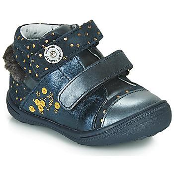 Schuhe Mädchen Boots Catimini ROSSIGNOL Marine / Gold