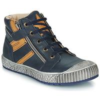 Schuhe Jungen Boots Catimini RAMBOUTAN Blau