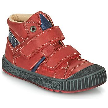 Schuhe Jungen Boots Catimini RAIFORT Rot-marine / Dpf / Linux