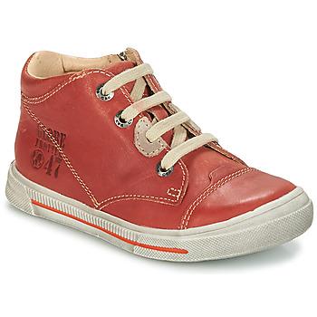 Schuhe Jungen Boots GBB SYLVAIN Dpf / Schwarz / weiss / gold