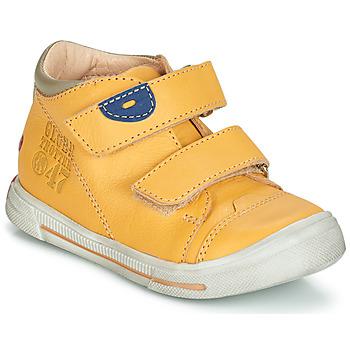 Schuhe Jungen Boots GBB SAMY Gelb / Dpf / Schwarz / weiss / gold