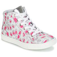 Schuhe Mädchen Sneaker High GBB SERAPHINE Grau / Rose / Weiss