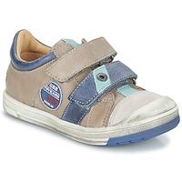 Schuhe Jungen Boots GBB SERGE Maulwurf-blau / Dpf