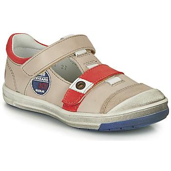 Schuhe Jungen Boots GBB SCOTT Beige-rot / Dpf