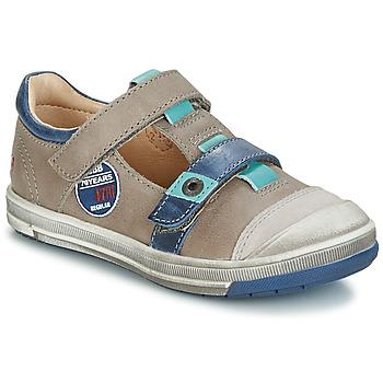 Schuhe Jungen Boots GBB SCOTT Maulwurf-blau / Dpf
