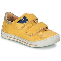 Schuhe Jungen Boots GBB SEBASTIEN Gelb / Dpf / Schwarz / weiss / gold